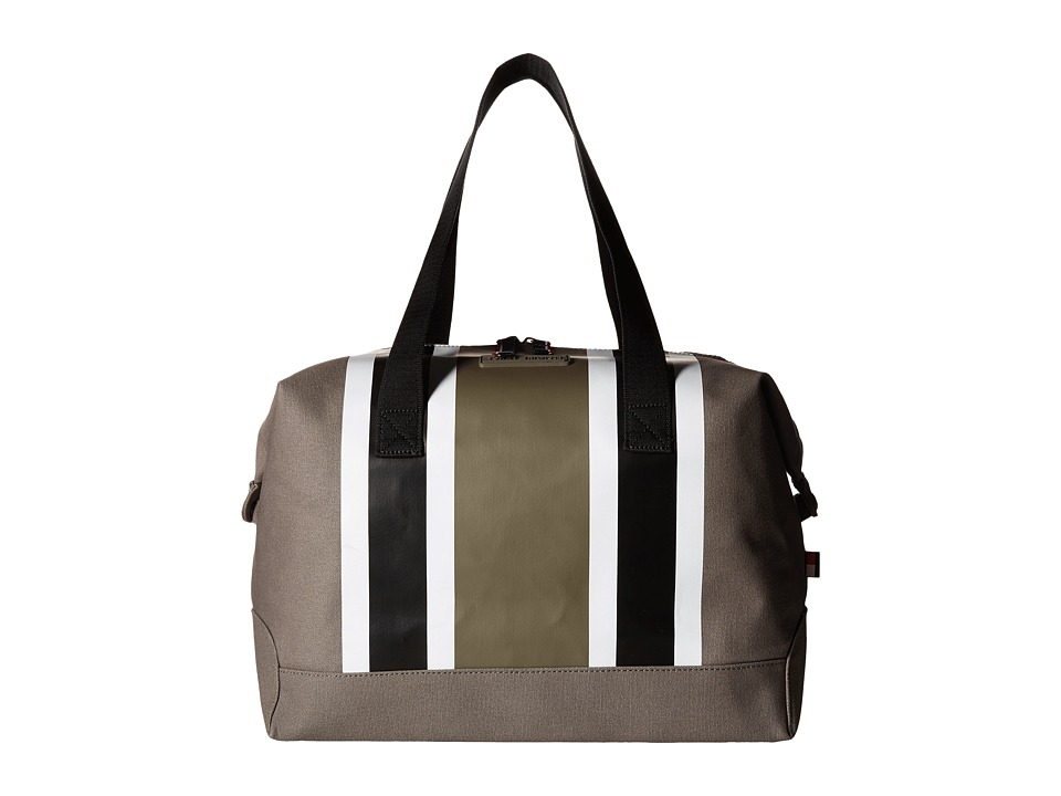 on sale tommy hilfiger stripes canvas weekender navywhitered duffel bags find more warehouse. Black Bedroom Furniture Sets. Home Design Ideas