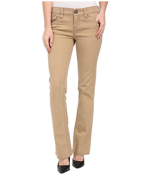 UNIONBAY - Kennedy True Boot Stretch Twill Pants (Sandy Brown) Women