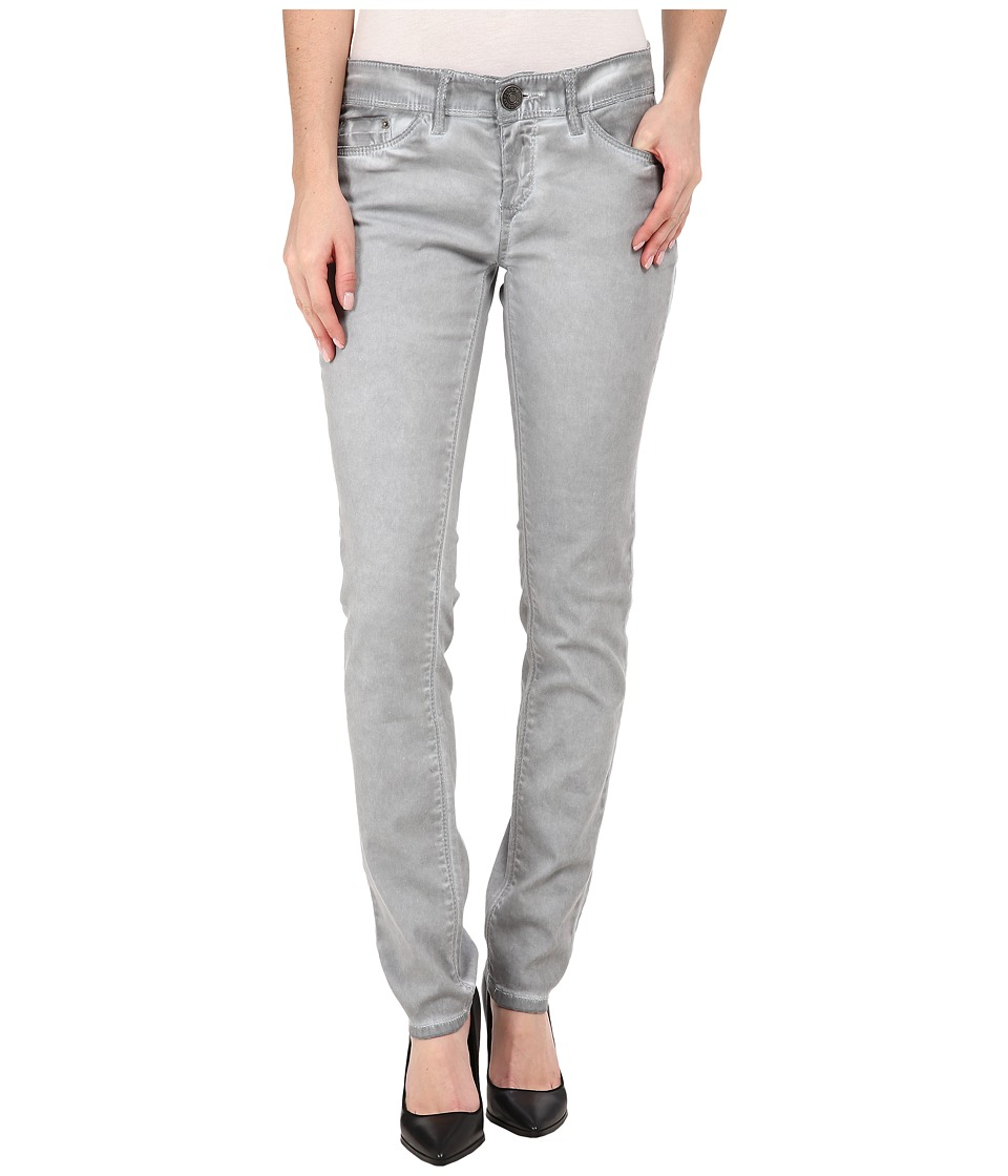 UNIONBAY - Selma Five-Pocket Skinny Cold Wash Jeans in Edge Grey (Edge Grey) Women's Jeans
