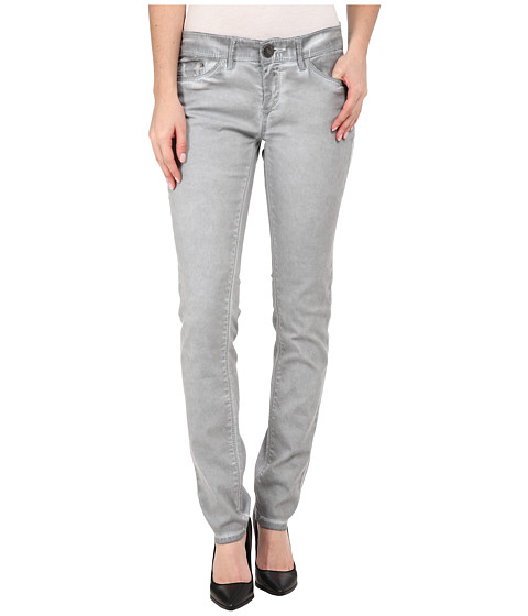 UNIONBAY - Selma Five-Pocket Skinny Cold Wash Jeans in Edge Grey (Edge Grey) Women