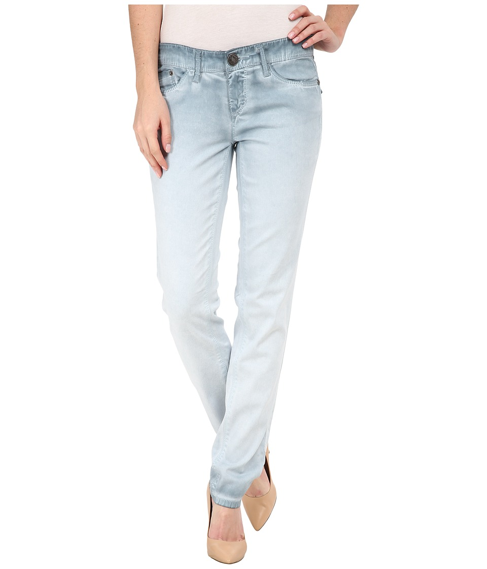 UNIONBAY - Selma Five-Pocket Skinny Cold Wash Jeans in Ash Blue (Ash Blue) Women