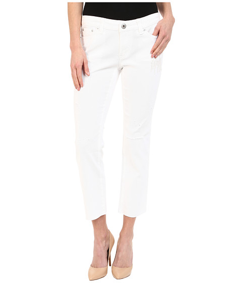 UNIONBAY - Garrett Boy Fit Jeans in White (White) Women's Jeans