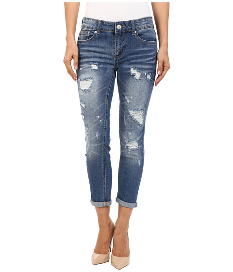 UNIONBAY - Margot Vintage Peg Jeans in Cove (Cove) Women's Jeans