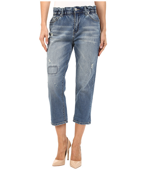 UNIONBAY - Thompson Relaxed Vintage Peg Jeans in Brisbane Blue (Brisbane Blue) Women's Jeans