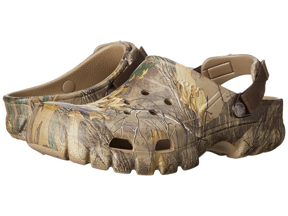 Crocs - Off Road Sport Realtree Xtra (Khaki) Shoes