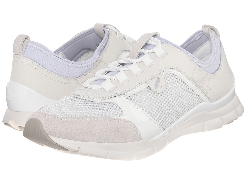 Geox - WSUKIE5 (Off-White) Women's Shoes