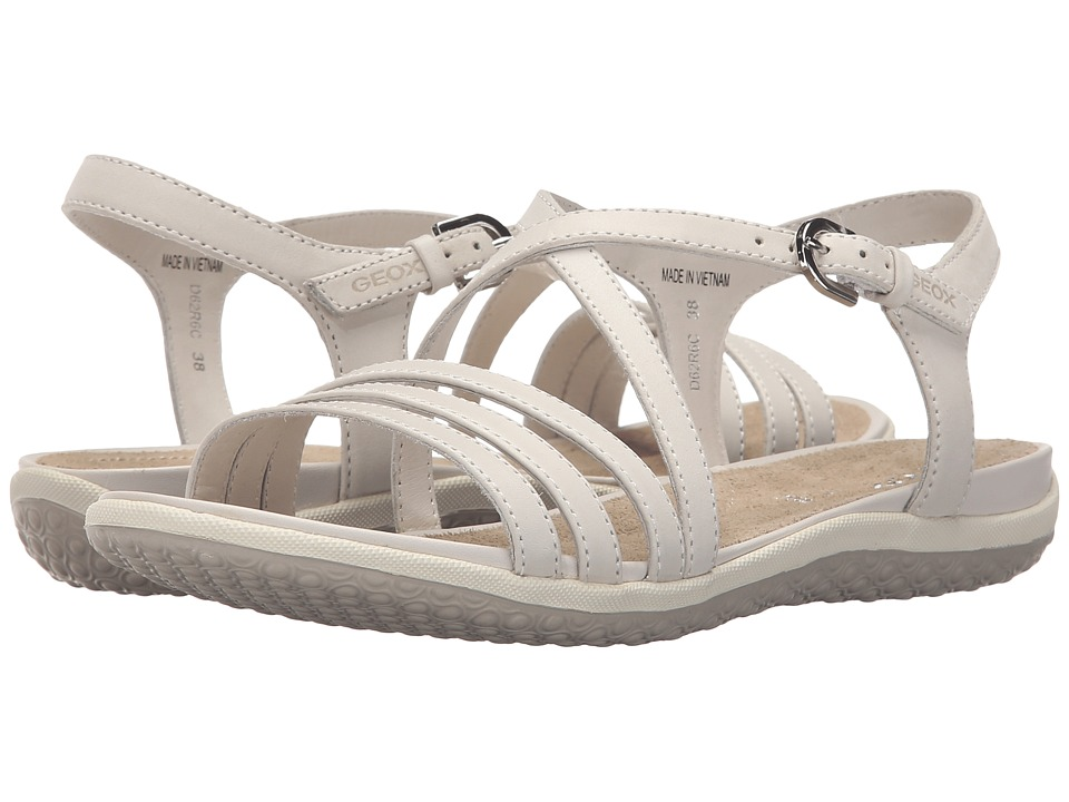Geox - WSANDALVEGA5 (Off-White) Women