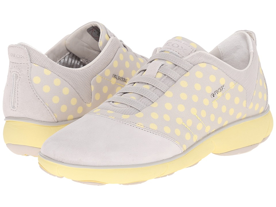 Geox - W NEBULA 4 (Off-White/Light Yellow) Women's Shoes