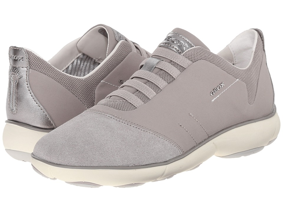 Geox - W NEBULA 4 (Light Grey) Women's Shoes