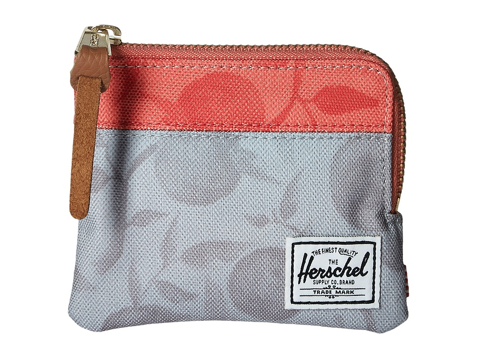 Herschel Supply Co. - Johnny (Grey Orchard/Red Orchard) Coin Purse
