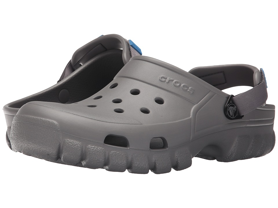 Crocs - Off Road Sport Clog (Smoke/Charcoal) Clog Shoes