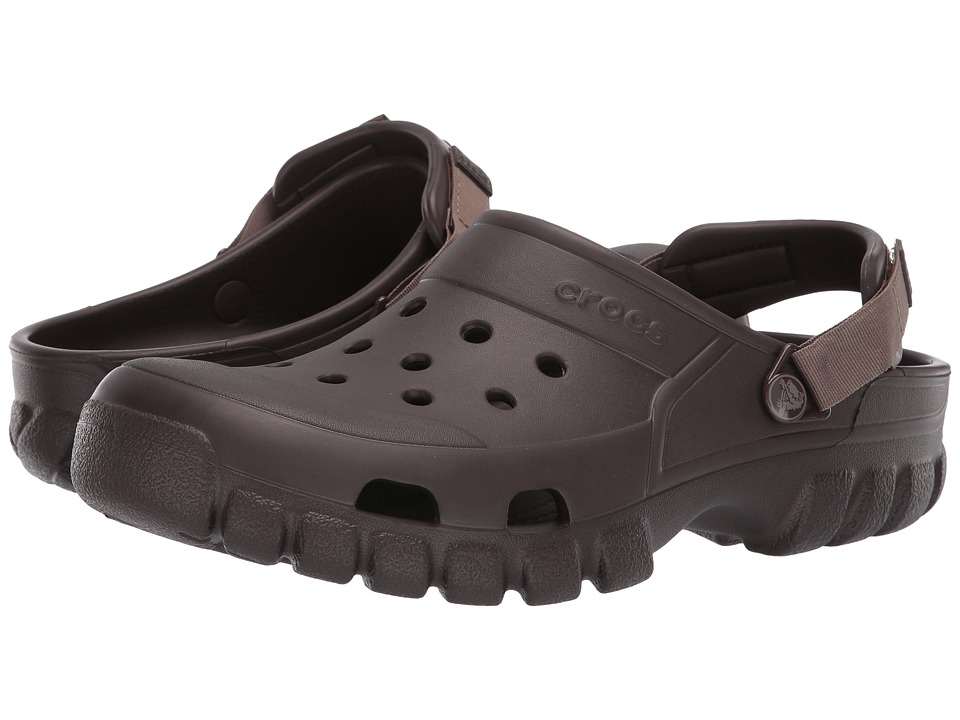 Crocs - Off Road Sport Clog (Espresso/Walnut) Clog Shoes