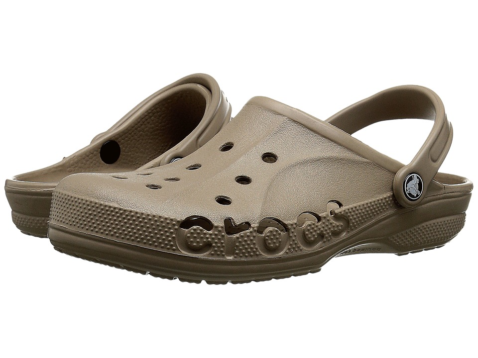 Crocs - Baya (Unisex) (Tumbleweed) Slip on Shoes
