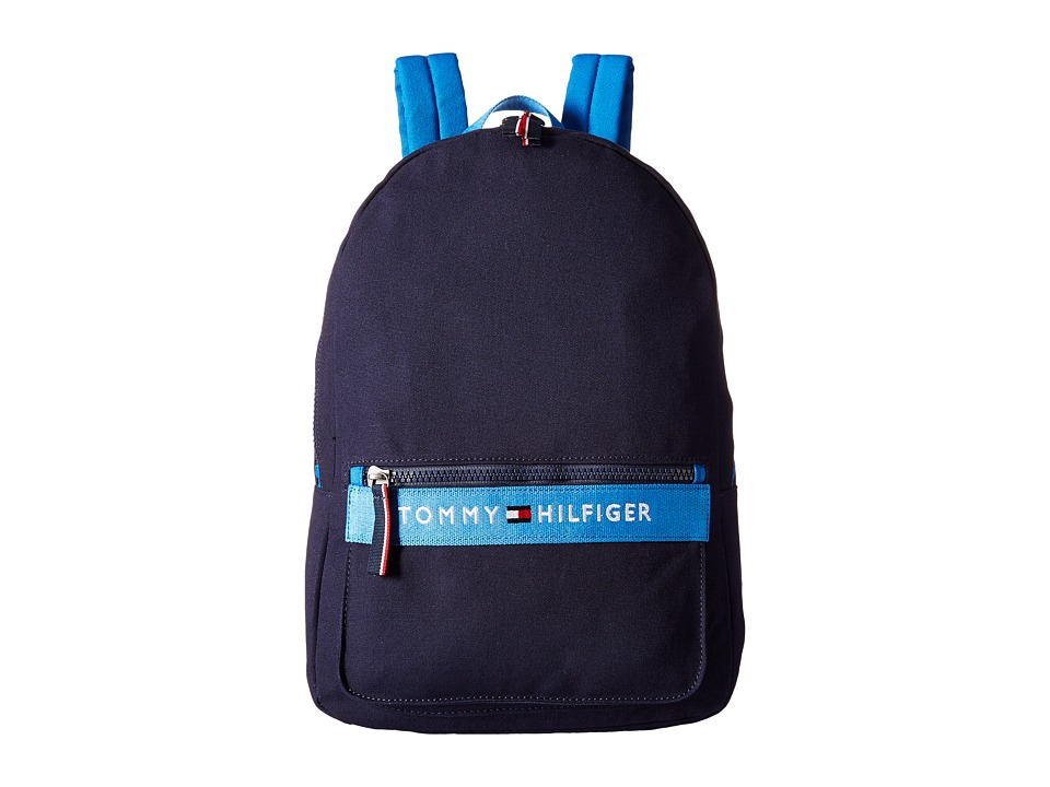 Tommy Hilfiger - TH Sport - Core Plus Backpack (Navy/French Blue) Backpack Bags