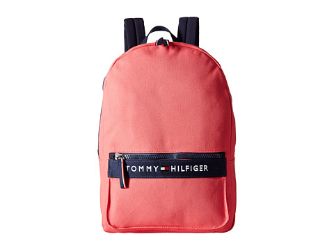 Tommy Hilfiger - TH Sport - Core Plus Backpack (Calypso Coral/Navy) Backpack Bags