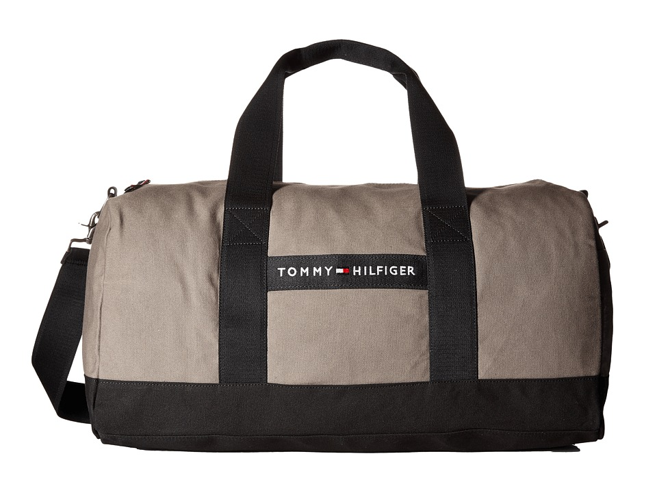 Tommy Hilfiger - TH Sport - Core Plus Medium Duffel (Pepper/Black) Duffel Bags