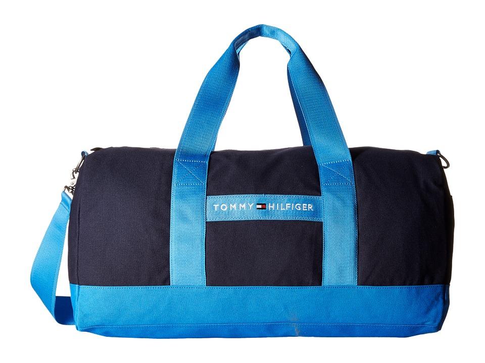 Tommy Hilfiger - TH Sport - Core Plus Medium Duffel (Navy/French Blue) Duffel Bags