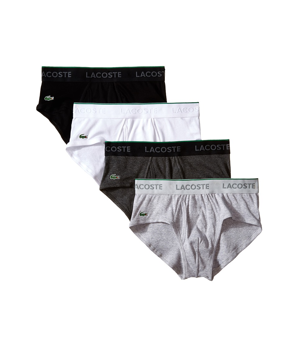 Lacoste - Solid New Low Rise Brief (Multi Core) Men's Underwear