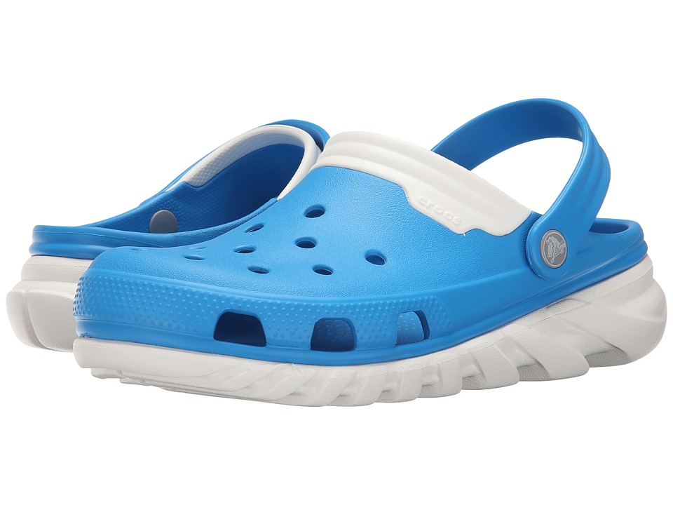 Crocs - Duet Max Clog (Ocean/White) Clog Shoes