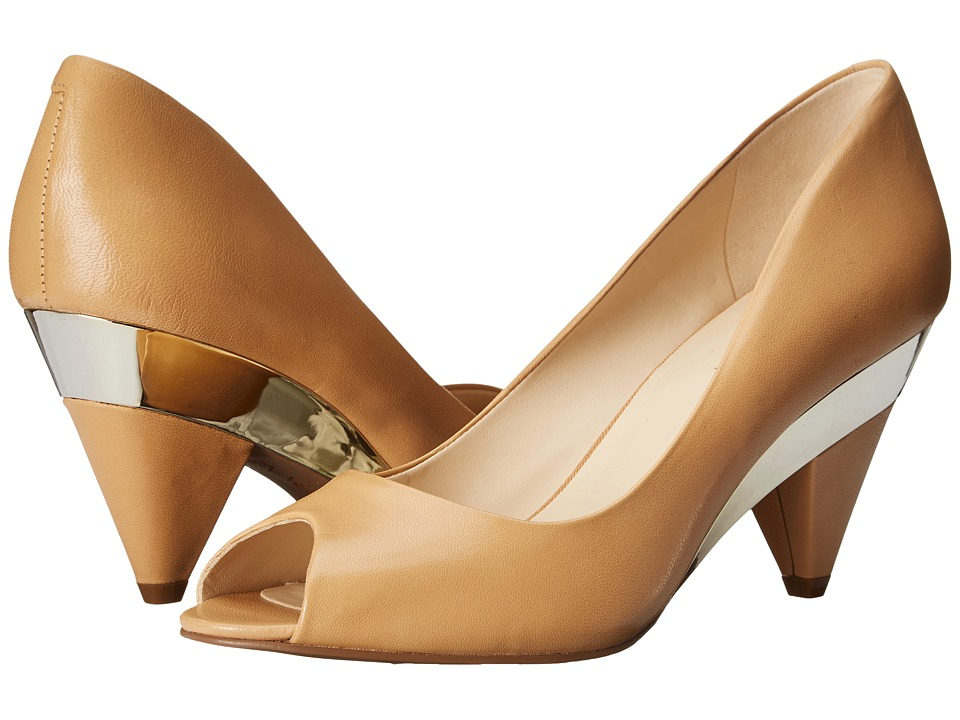Nine West - Heliconia (Natural Leather) High Heels