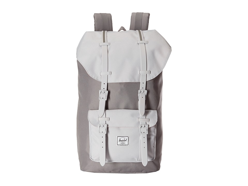 Herschel Supply Co. - Little America (Grey/Lunar Rock/Lunar Rock Rubber/Grey Insert) Backpack Bags