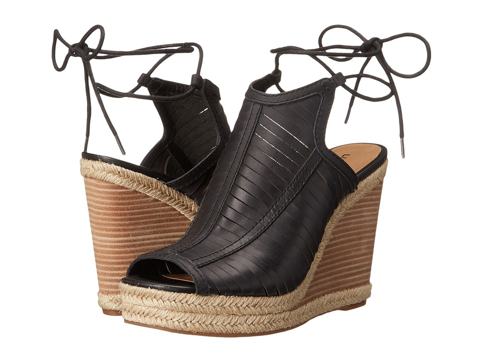 Lucky Brand - Laceey Wedge (Black) Women's Wedge Shoes
