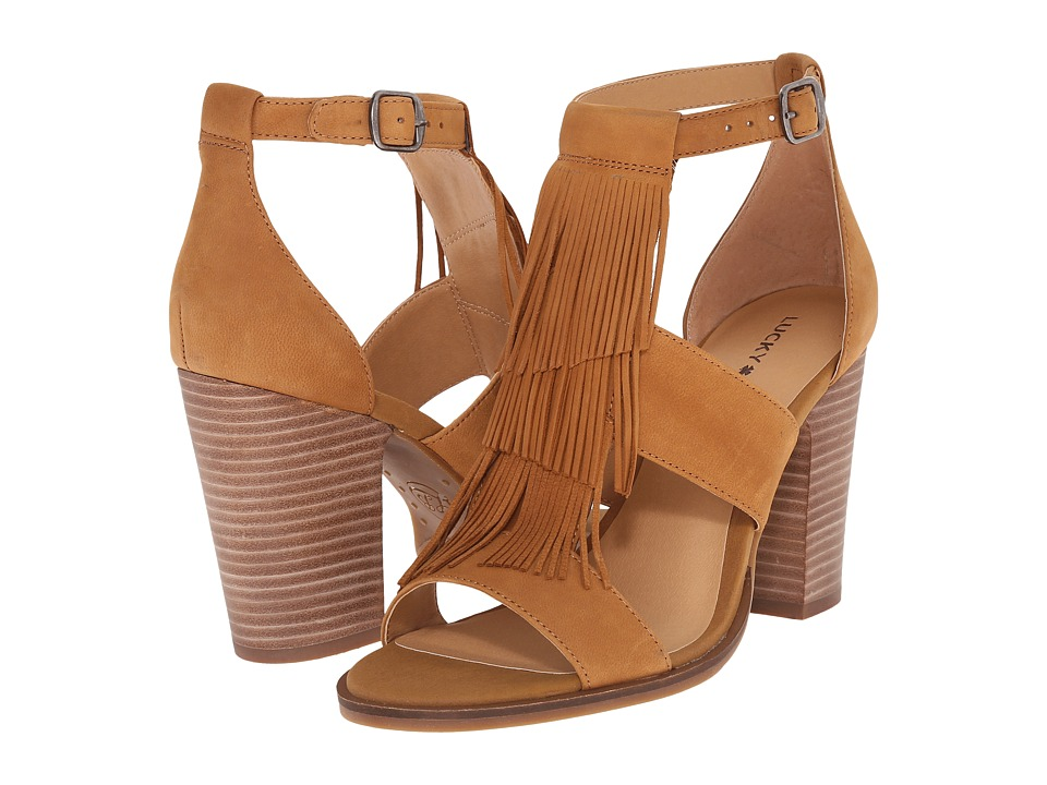 Lucky Brand Leesha (Brown Sugar) High Heels