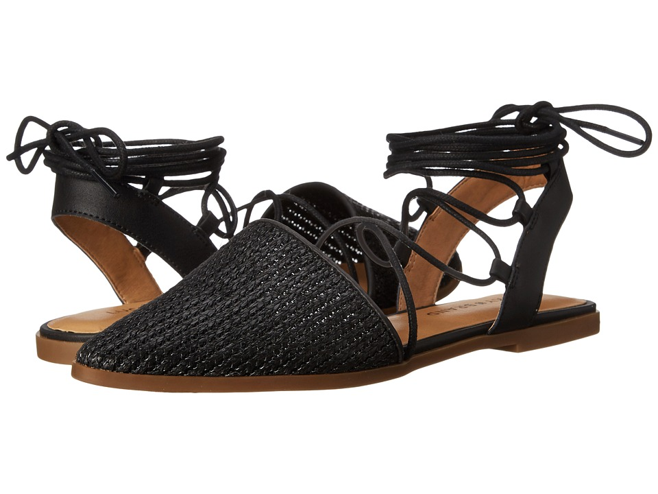 Lucky Brand - Mackneill Flat (Black) Women's Flat Shoes
