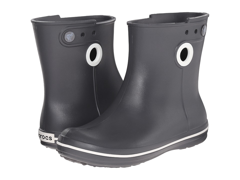 Crocs - Jaunt Shorty Boot (Graphite) Women's Boots