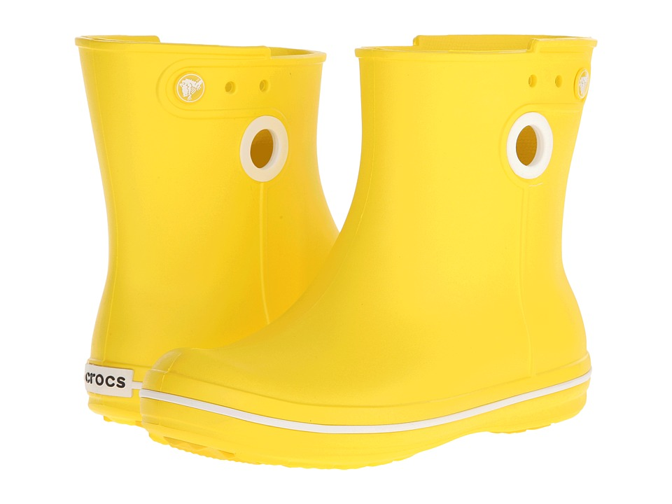 Crocs - Jaunt Shorty Boot (Lemon) Women's Boots