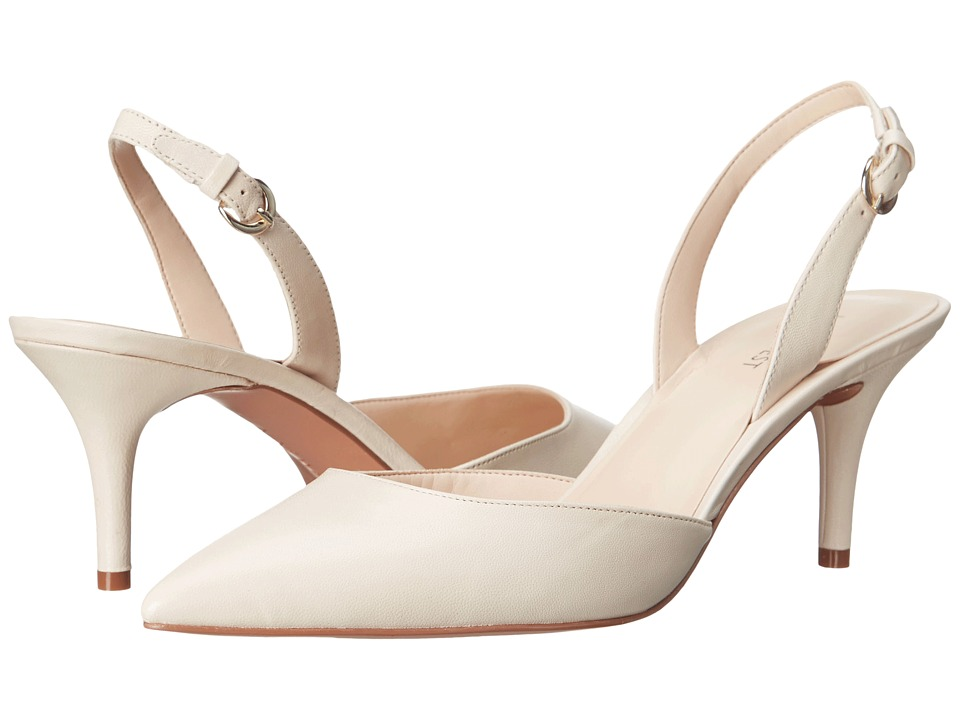 Nine West Margareth Off-White Leather Womens 1-2 inch heel Shoes