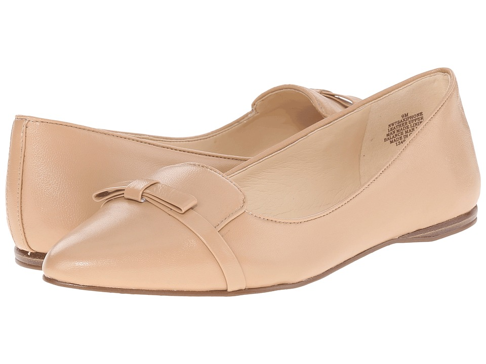 Nine West Saxiphone (Natural Leather) Women