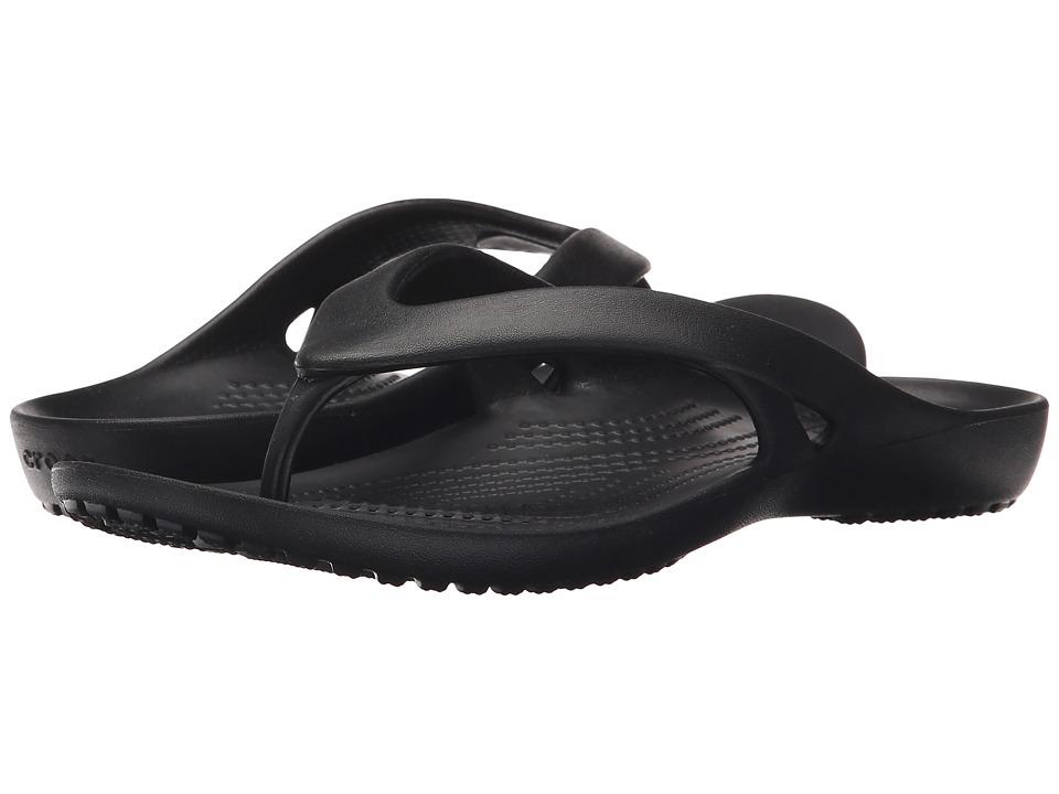 Crocs - Kadee II Flip (Black) Women's Sandals