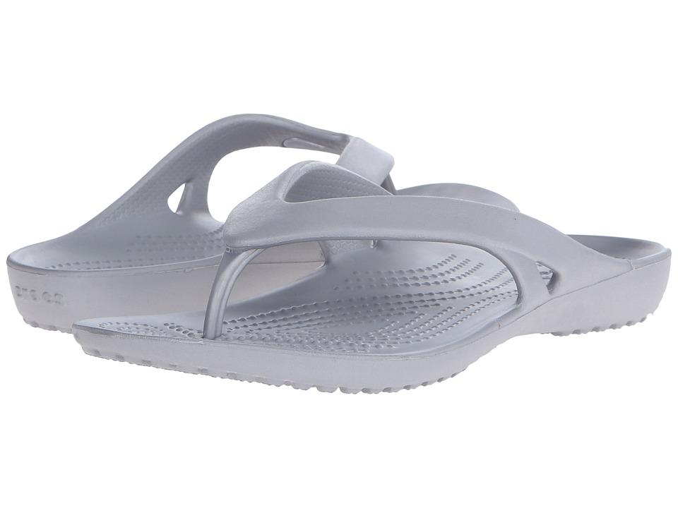 Crocs - Kadee II Flip (Silver) Women's Sandals