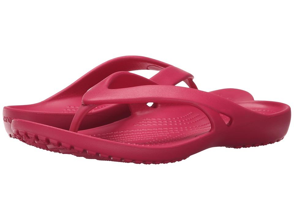 Crocs - Kadee II Flip (Raspberry) Women's Sandals