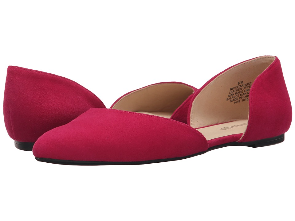 Nine West - Stardust (Pink Suede) Women's Flat Shoes