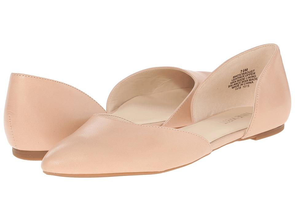 Nine West - Stardust (Natural Leather) Women's Flat Shoes