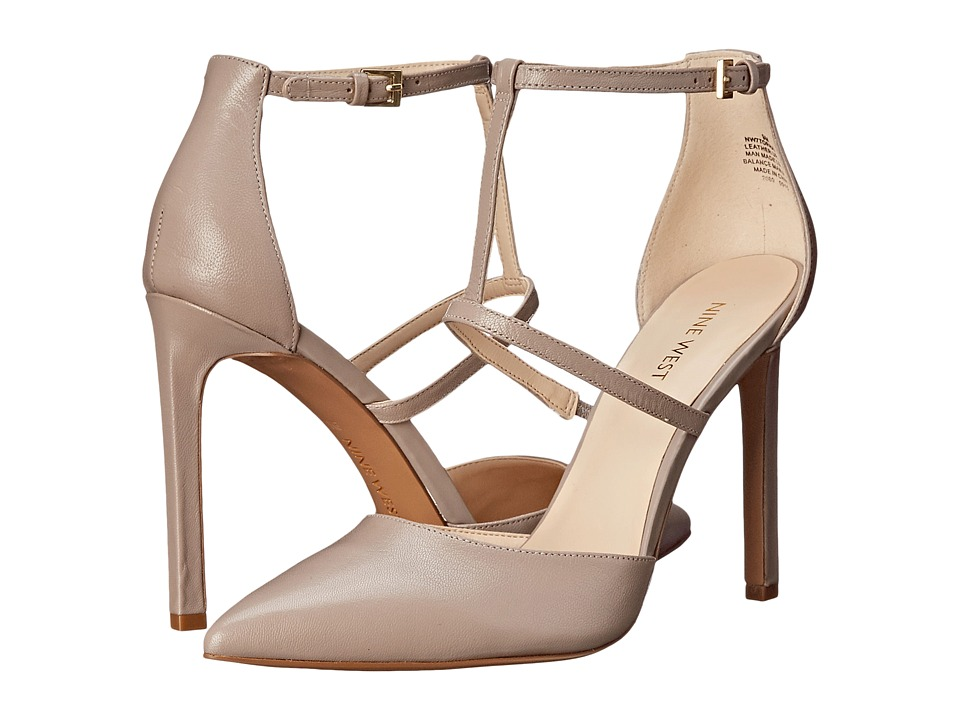 Nine West - Tornaydo (Light Grey Leather 1) High Heels