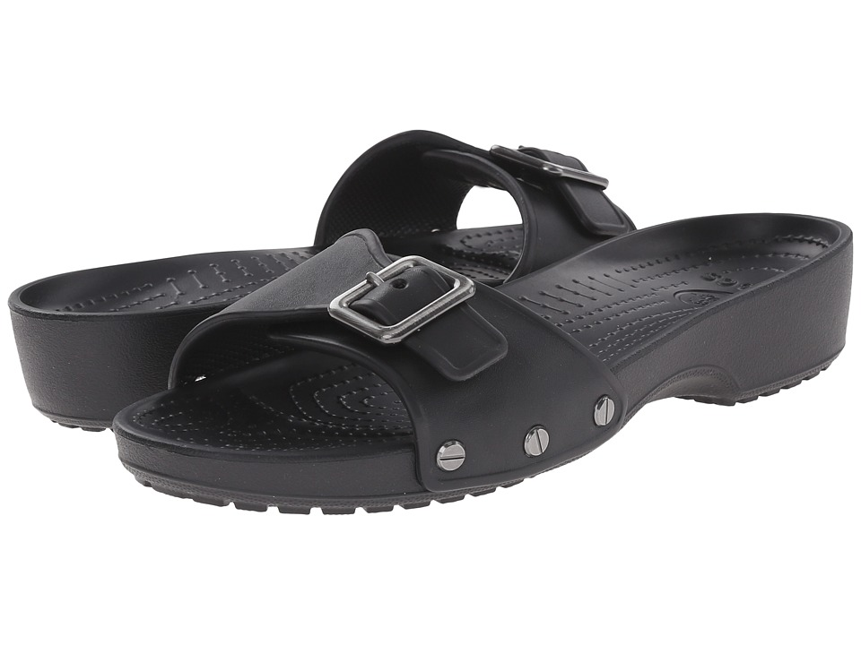 Crocs - Sarah Sandal (Black/Black) Women's Sandals