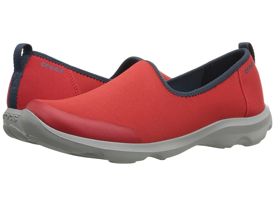 Crocs - Busy Day Stretch Skimmer (Flame) Women's Shoes