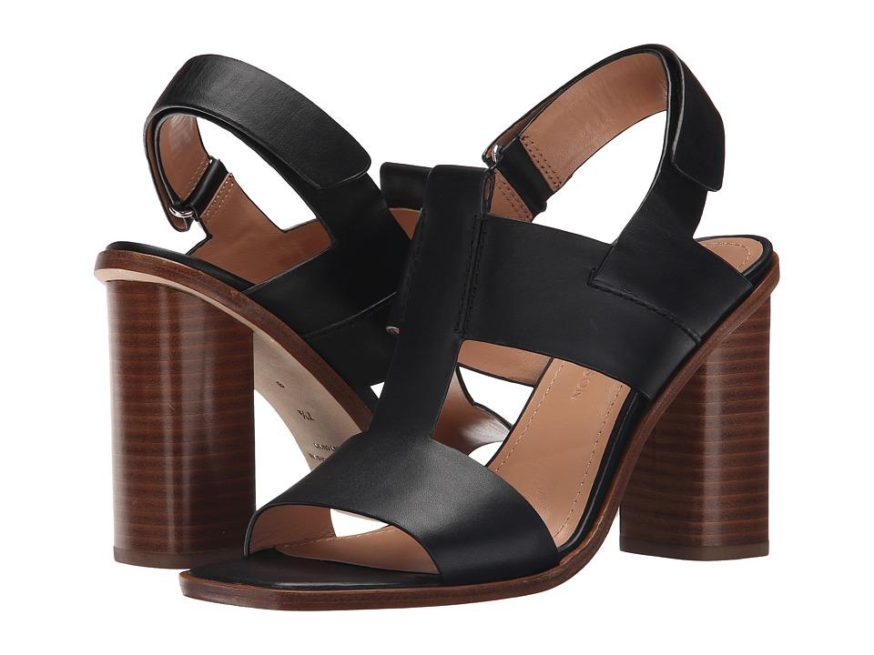 Sigerson Morrison - Jazz (Black Leather) Women's Sandals