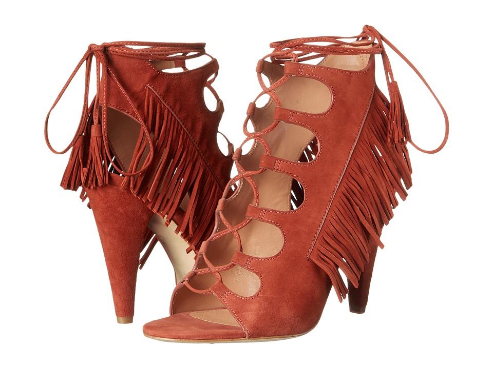 Sigerson Morrison - Marita (Rust Suede) Women's Sandals