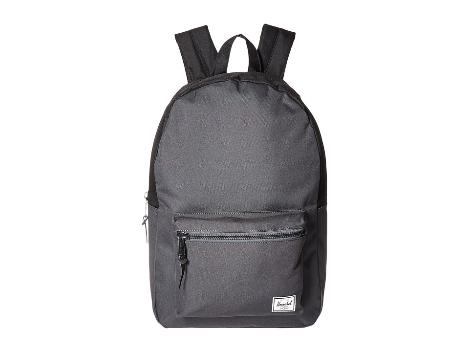 Herschel Supply Co. - Settlement (Dark Shadow/Black) Backpack Bags