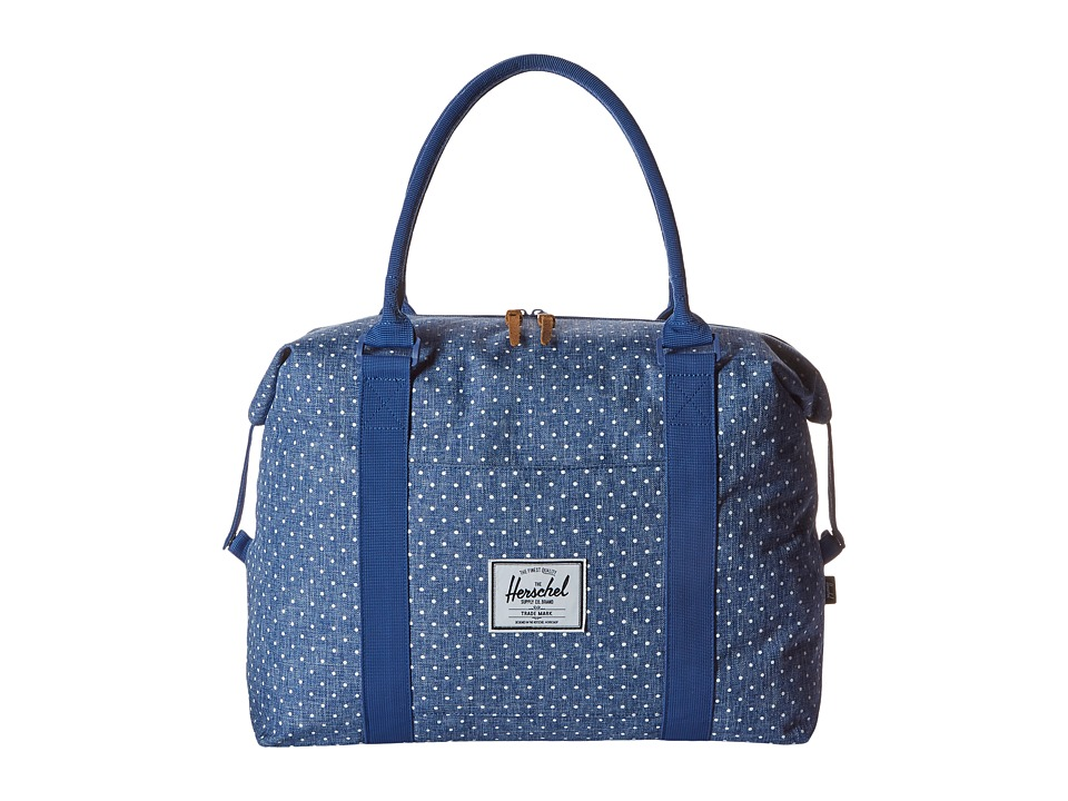 Herschel Supply Co. - Strand (Limoges Crosshatch/White Polka Dot) Duffel Bags