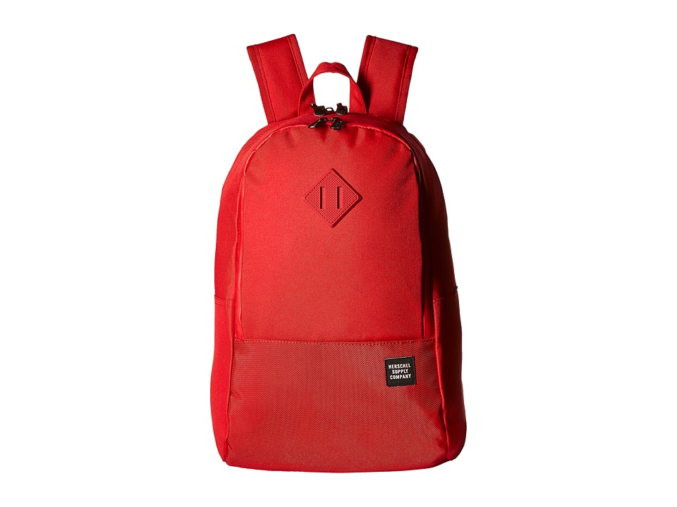 Herschel Supply Co. - Nelson (Red/Red Ballistic/Red Rubber) Backpack Bags