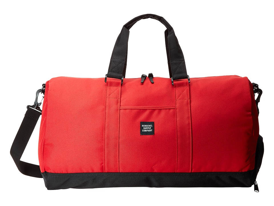 Herschel Supply Co. - Novel (Red/Black Ballistic) Duffel Bags