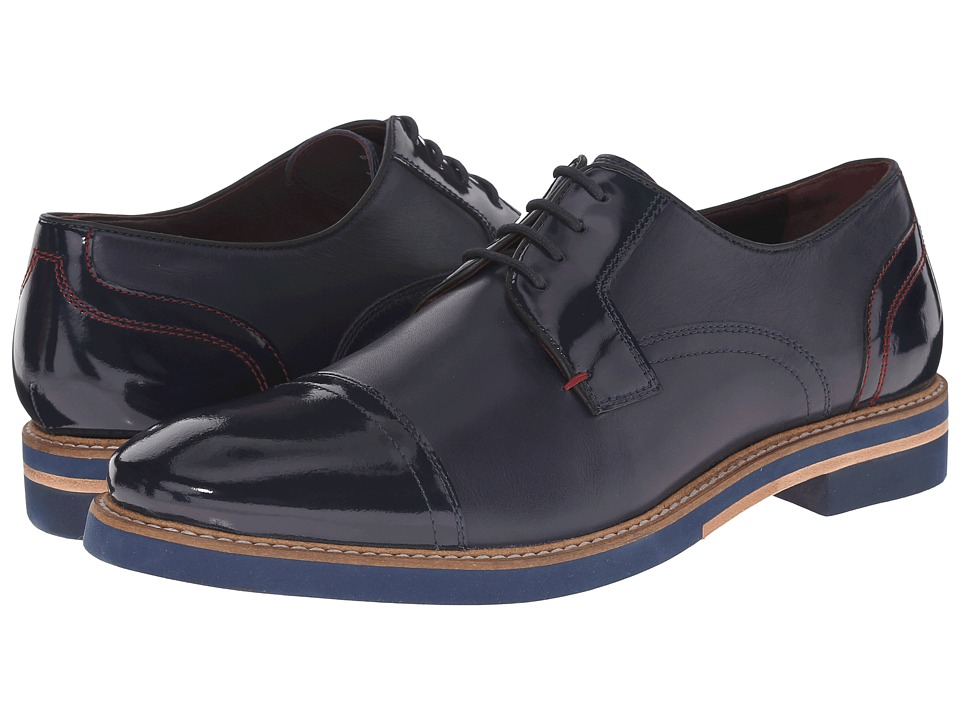 Ted Baker - Braythe 2 (Dark Blue) Men's Lace Up Cap Toe Shoes