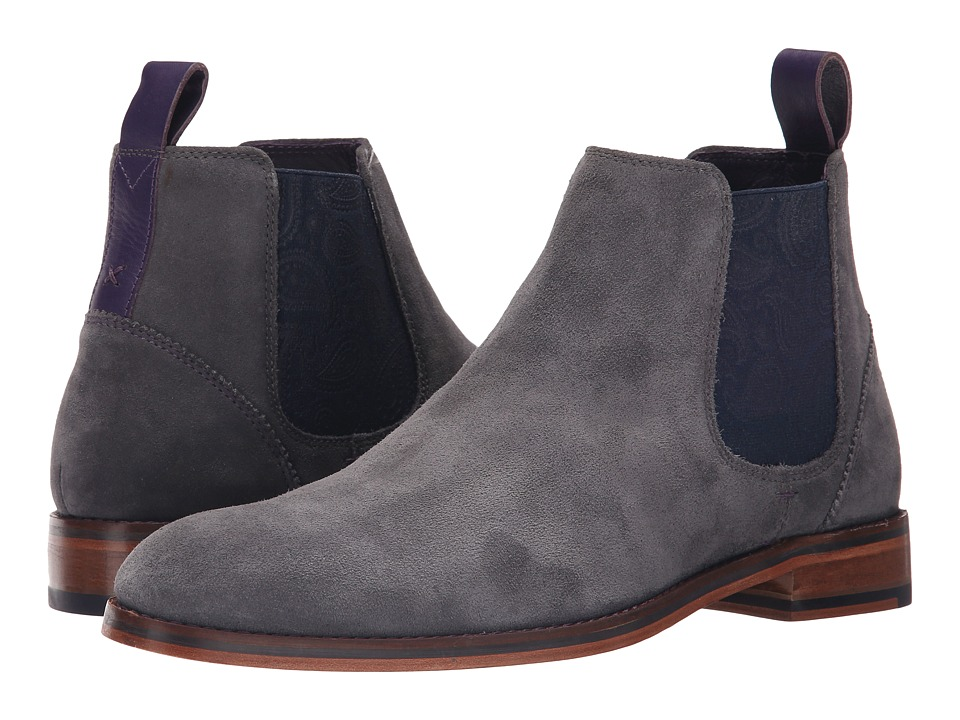 Ted Baker - Camroon 4 (Grey Suede) Men's Pull-on Boots