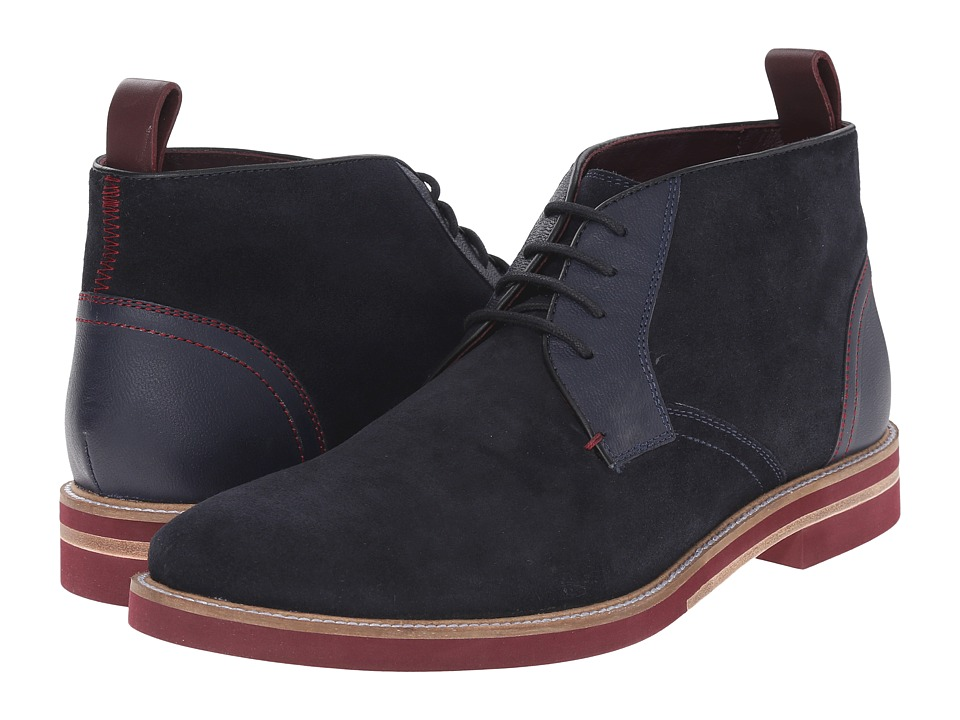 Ted Baker - Challen 2 (Dark Blue Suede) Men's Shoes