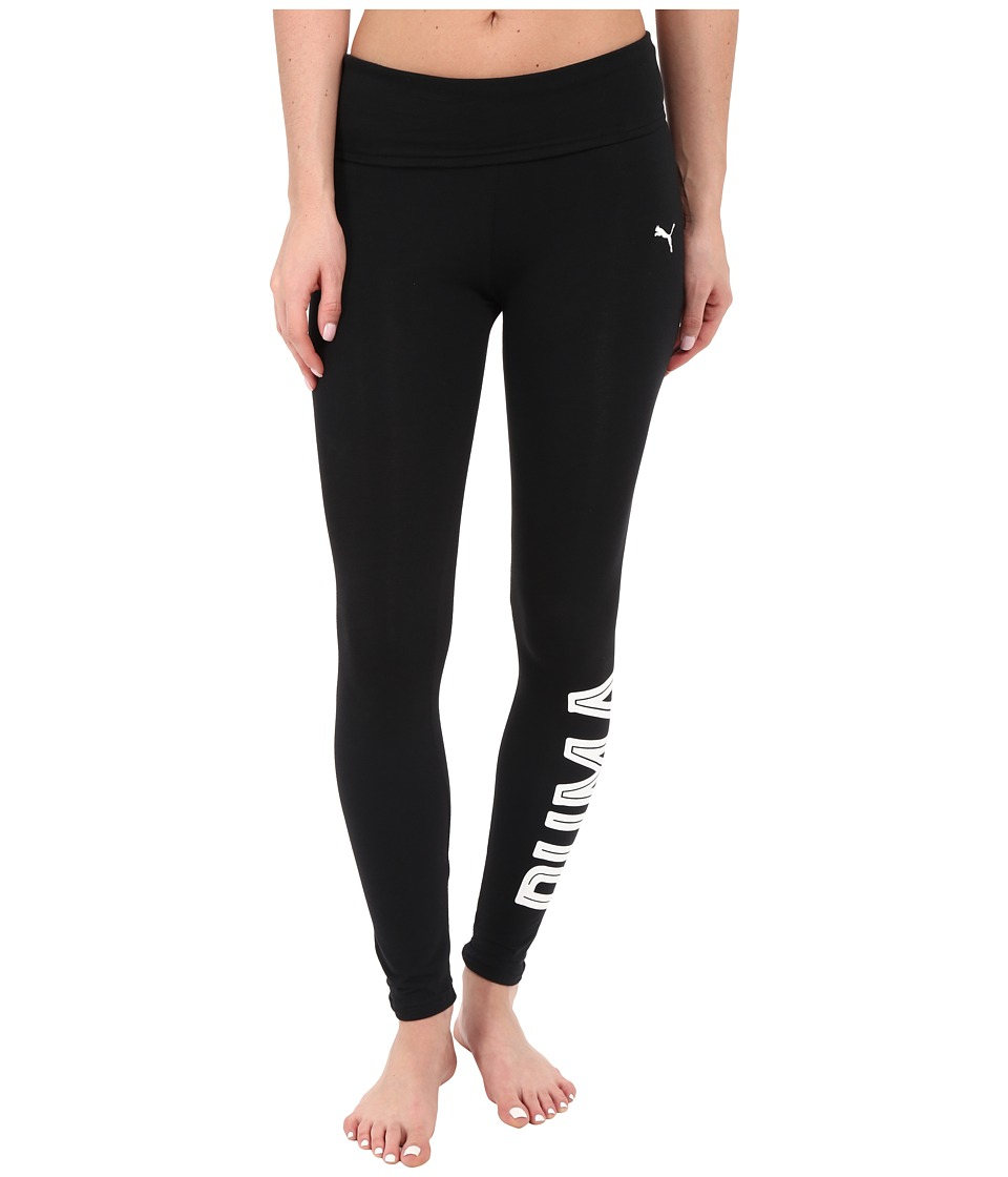PUMA - Style Swagger Leggings (Black) Women's Workout